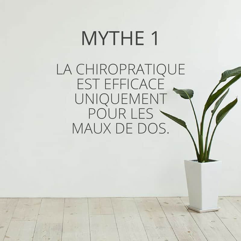Mythe de la chiropratique 1