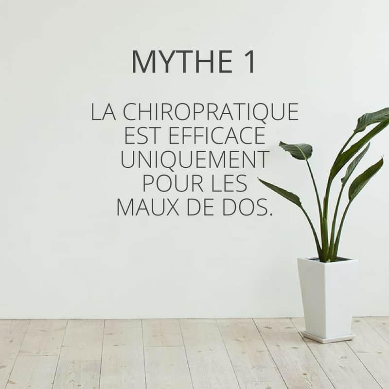 Mythe de la chiropratique 1