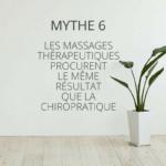 massages thérapeutique chiropratique