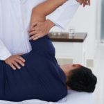 Professional spine adjustment